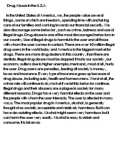 Drug Addiction Research Paper Example - JetWriters